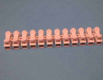 12 way Screwless Terminal Block